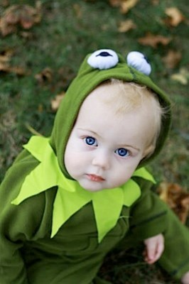 kermit the frog costume make
