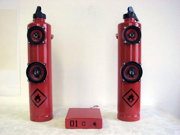 Fire Extinguisherspeakers