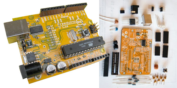 Freeduino Plus Parts