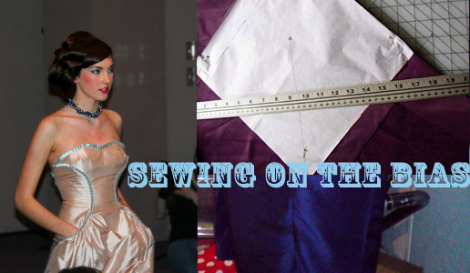 sewing on the bias