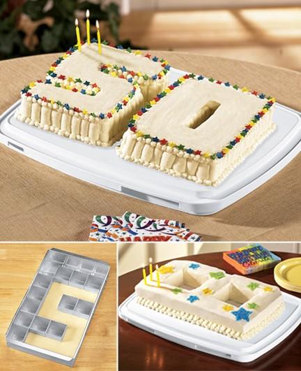 alpha num cake pan