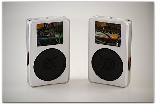 Speaker Made From Old Ipod