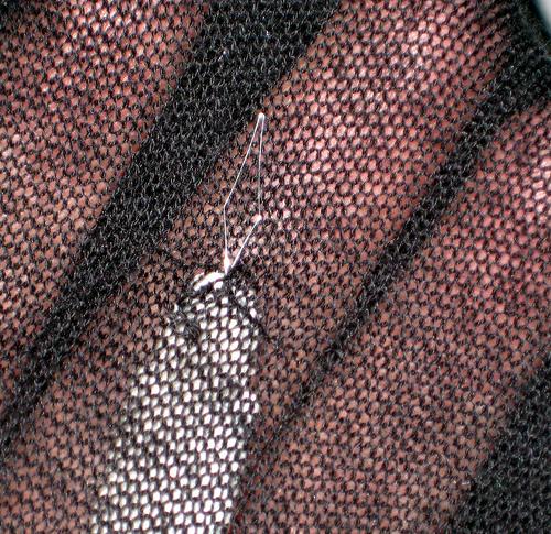 Mending Sweatersnag