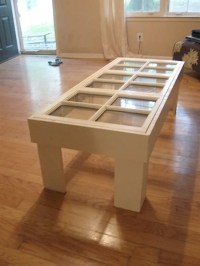 Coffee Table From Old Windows | Make: