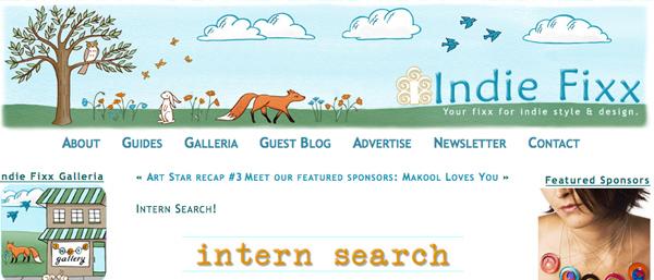 Indiefixx Intern
