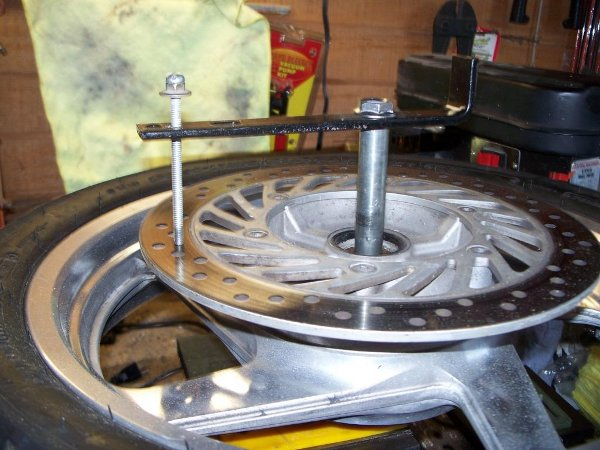 Measure brake rotor.JPG