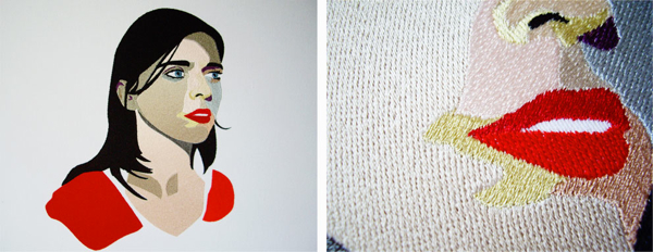 Red-Lips-Brunette-Portrait