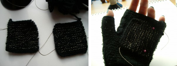 Conductive Mittens