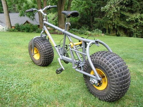 Extreme Fat Tire Bicycle Make