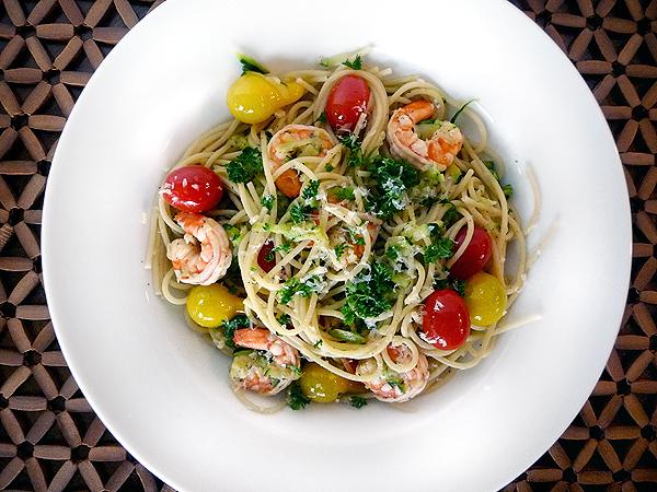 Shrimpscampi Dish