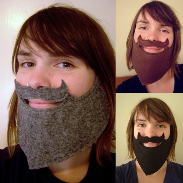 How To Make A Fake Beard Make