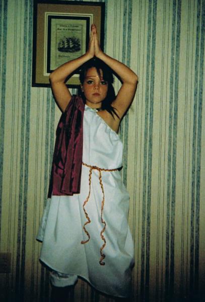 Rachel Hobson Halloween Egyptian