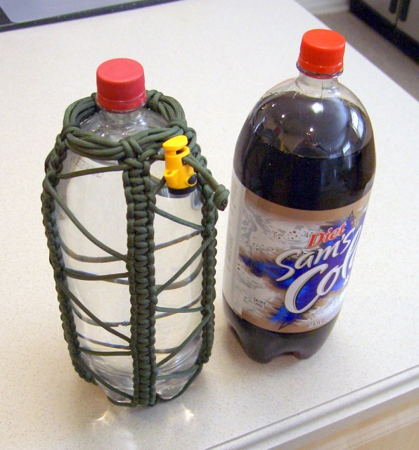Stormdrane paracord two-liter bottle holder 2.jpg
