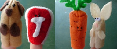 Giftguide Shed Fingerpuppet