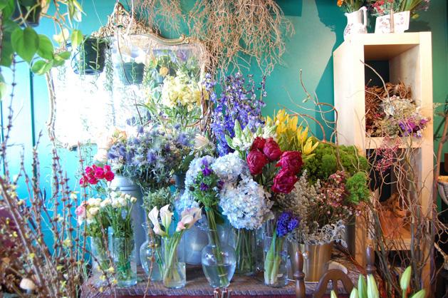 Bellandtrunk Flowersdisplay