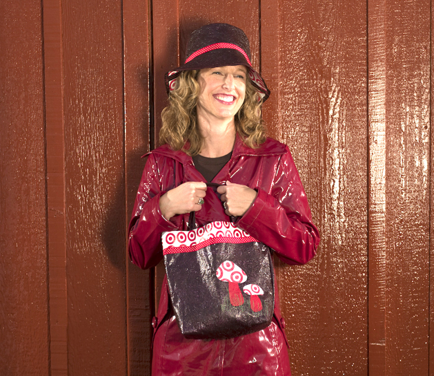 26e70c36c8b The eco-savvy shopper brings her own reusable bags to the store