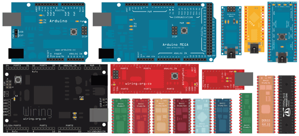 New Microcontrollers for Fritzing