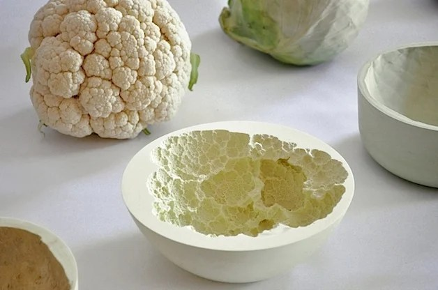 Ceramic Bowls Molded from Vegetables | Make: