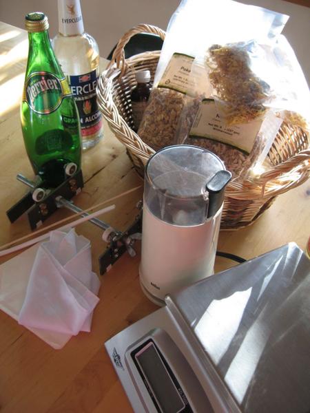 Tincture Materials Main