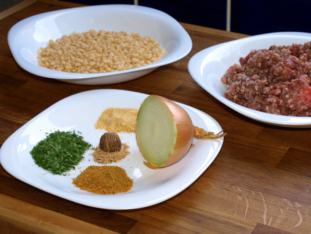 Ricecrispyburgers Ingredients