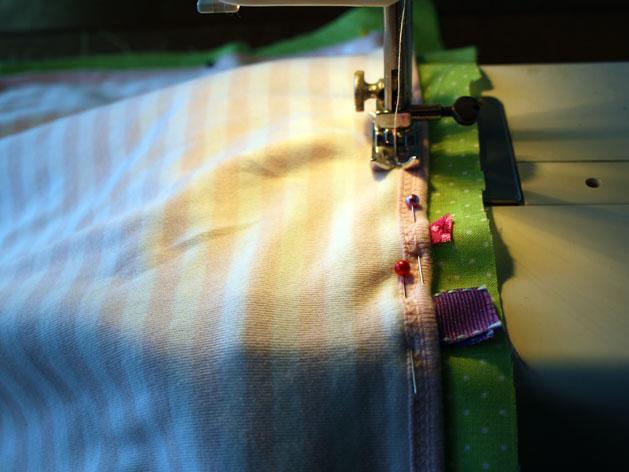 Tag Happy Baby Blanket Step6