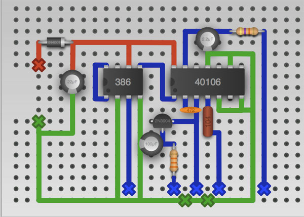 circuit skills perfboard prototyping sponsored by jameco electronics make. Black Bedroom Furniture Sets. Home Design Ideas