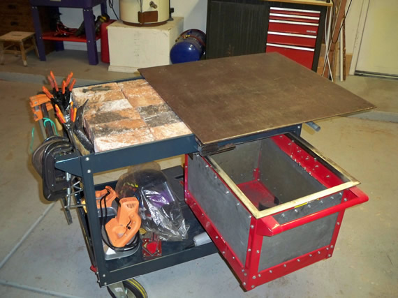 Diy Welding Cart Make