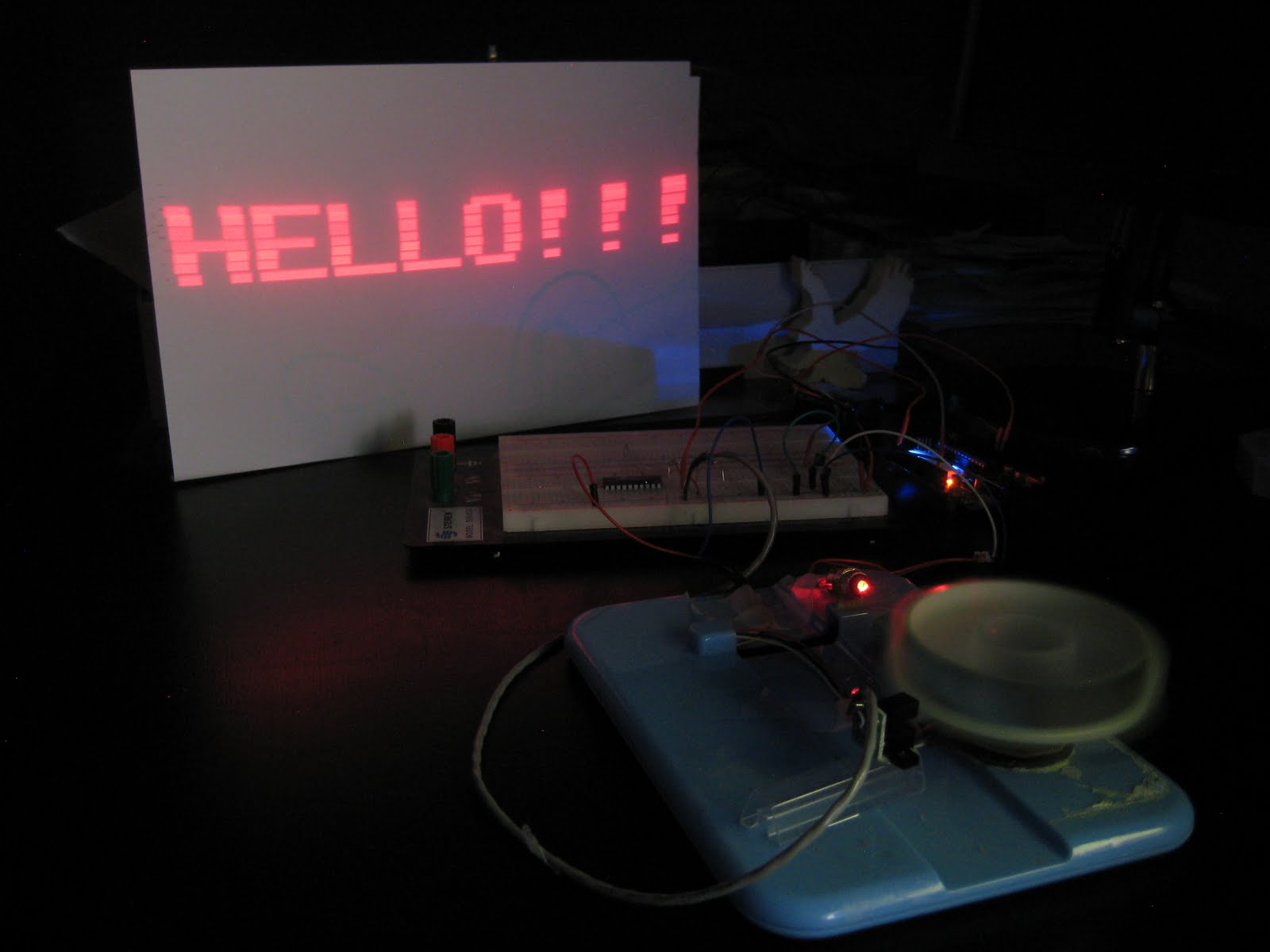 Diy Pillbox Laser Projector Make