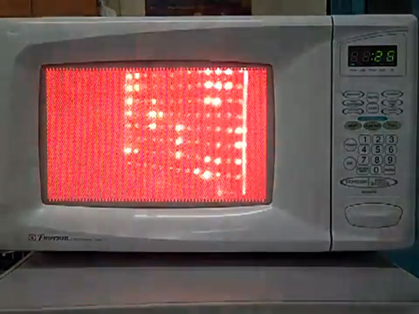 Visualizing Microwaves Inside A Microwave Oven Make