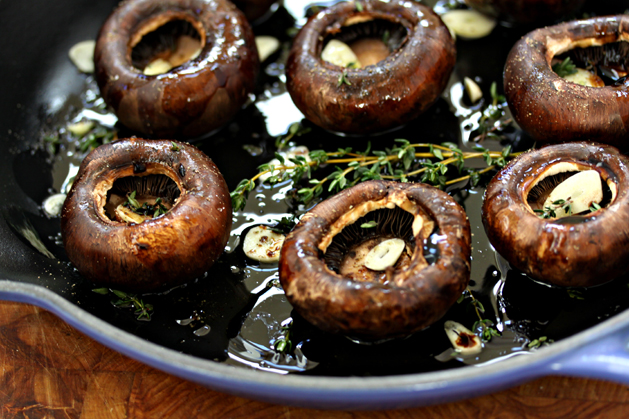 Recipe: Balsamic and Thyme Roasted Portabella Mushrooms ...