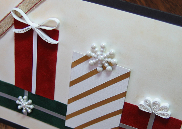 Christmaspackagescard Closeup