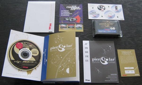 Pier Solar Euro Std Release Contents