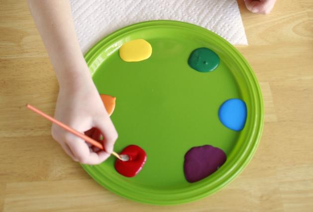 Rainbowpots Step 1
