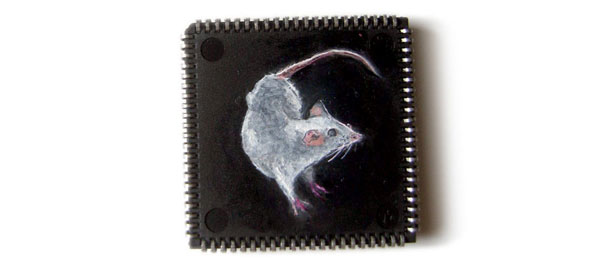 Microchip Painting