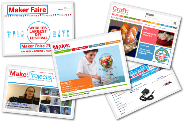 Makezine, Craftzine, Maker Faire, Make Projects, Maker Shed