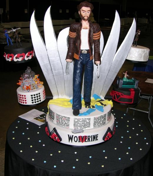 Pleasing Wolverine Fangirl Cake Make Personalised Birthday Cards Veneteletsinfo