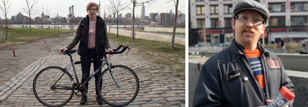 Becky Stern and Nick Normal Bikes