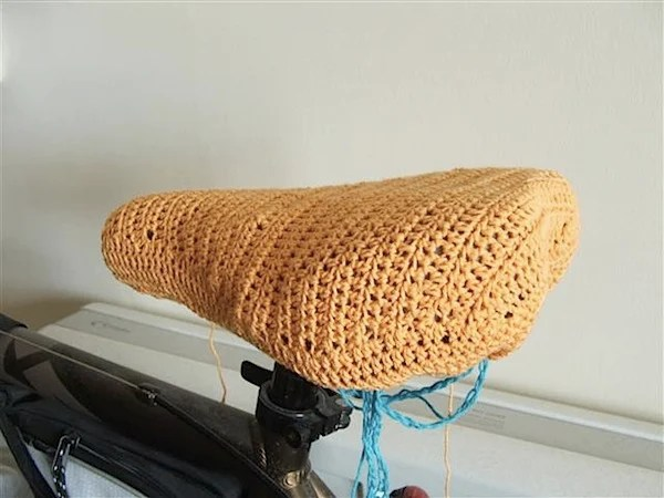 How-To: Crochet Bike Seat Cover