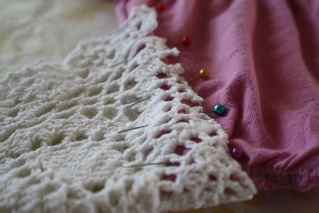 Spring Doily Top Step3