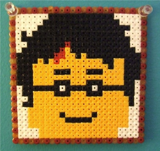 HowTo Harry Potter Lego Minifigure Heads In Perler Beads Make Simple Harry Potter Perler Bead Patterns