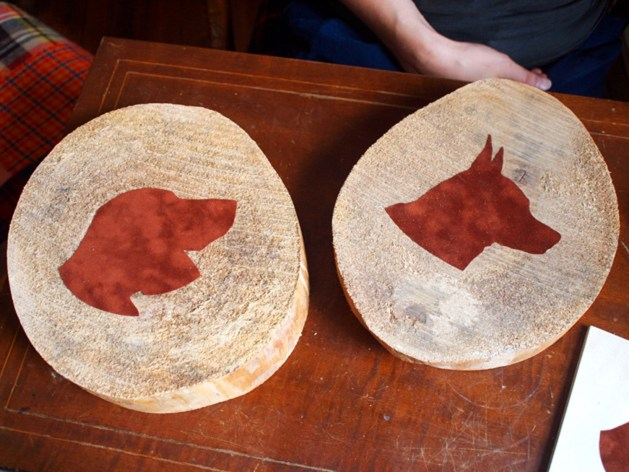 Dog silhouettes on wood pieces.jpg