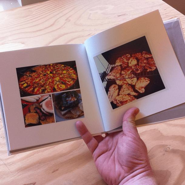 Instagram Book Spread