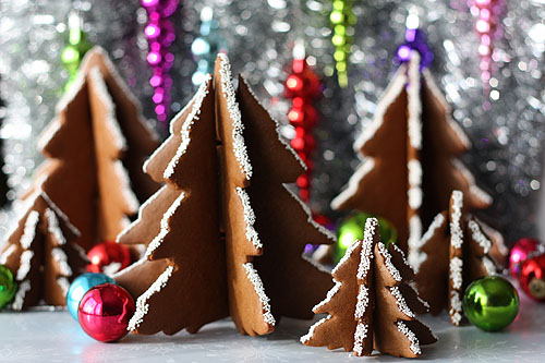 How To 3d Christmas Tree Gingerbread Cookies Make