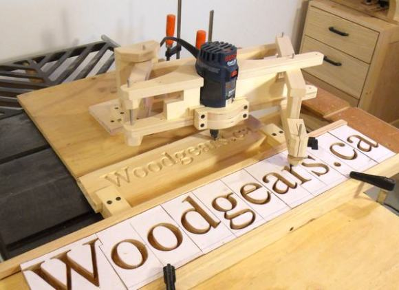 Matthias Wandel S Carving Machine Make
