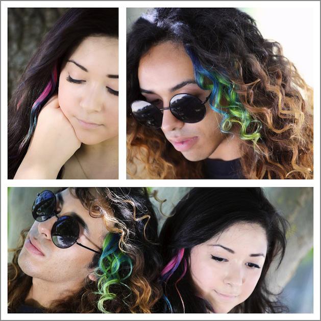 craftychica_tie_dye_hair_extensions.JPG