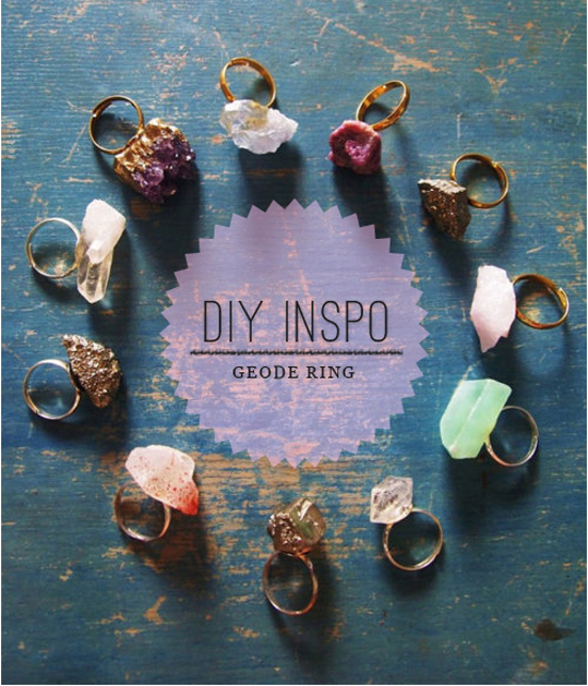 Geode Ring | DIY Christmas Gifts For Everyone In Your List