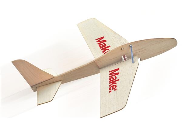New In The Maker Shed Rocket Glider Kit Make