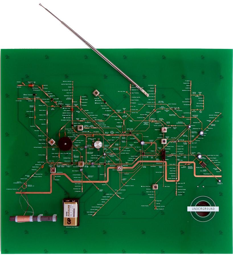 PCB Radio with London Underground Map-Configuration | Make: