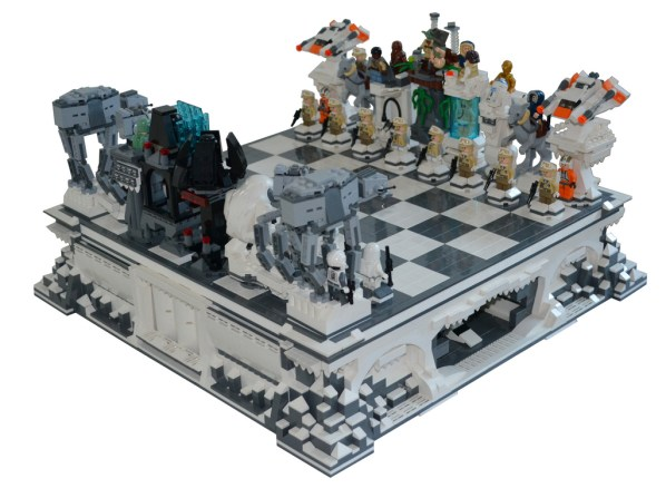 Lego Hoth Chess Set Make