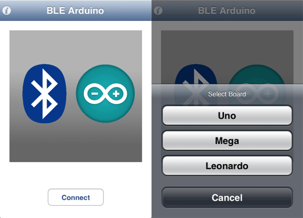BLE App Config